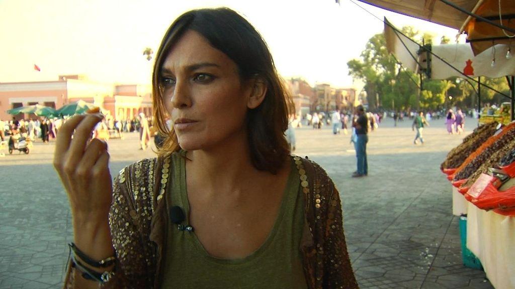 Laura Ponte enamorada de Marrakech