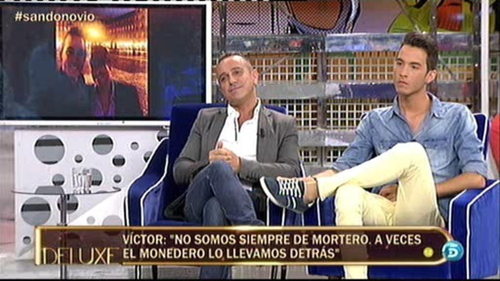 """Víctor Sandoval: """"Fran y yo todavía no estamos enamorados"""""""