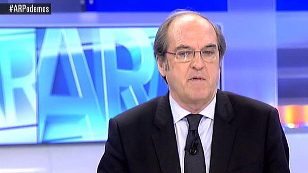 """Gabilondo: """"En Madrid vamos a tener que recordar y aprender que gobernar es pactar"""""""