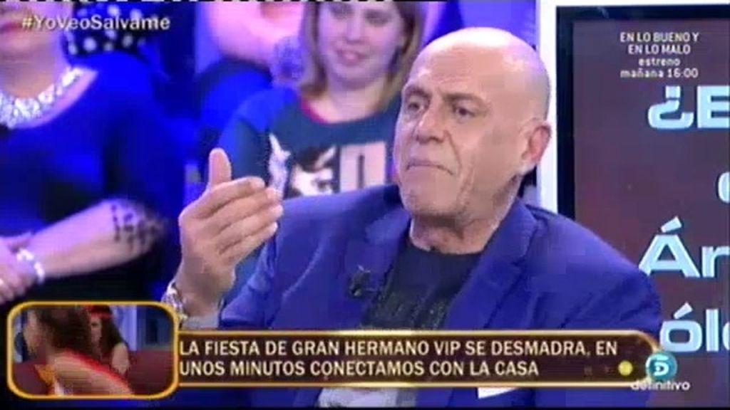 Matamoros defiende a Ángela Portero solo por interés económico, afirma el 'polideluxe'