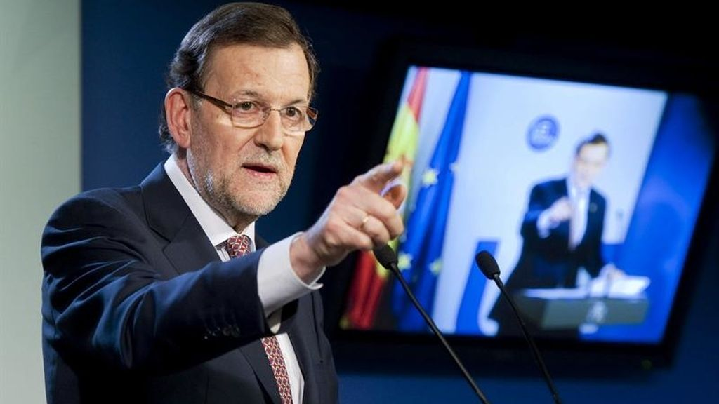 Rajoy habla de Bárcenas desde Bruselas