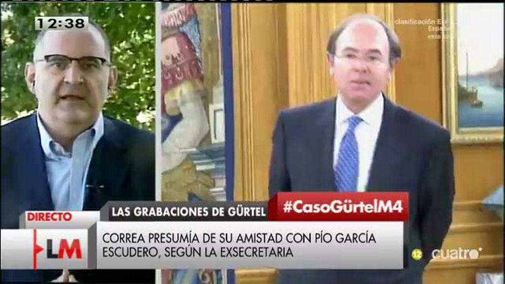 """Losada, sobre Pío García: """"Tiene que seguir el método Rajoy para asumir la corrupción"""""""
