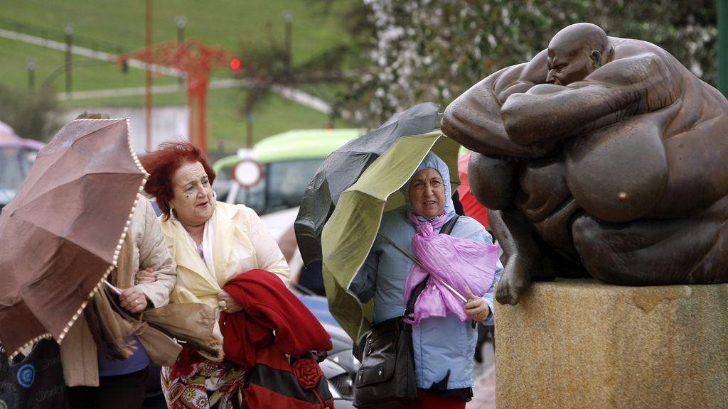 Lluvia en Coruña