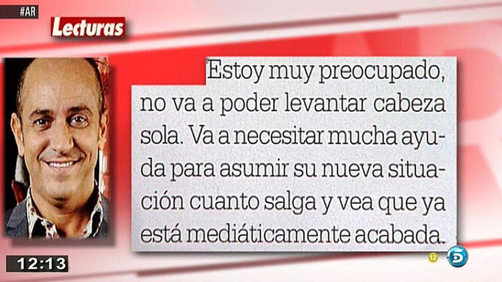 """Víctor Sandoval, tras su salida de 'GH VIP': """"Belén Esteban no se merece ganar"""""""