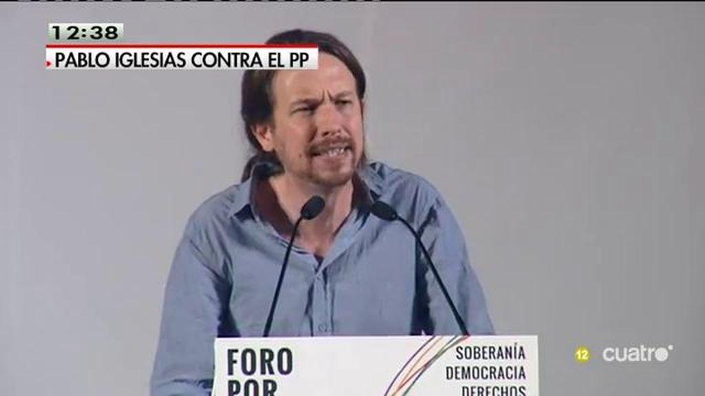 """Pablo Iglesias: """"Espera Alexis, que ya llegamos y vamos a ser más fuertes"""""""