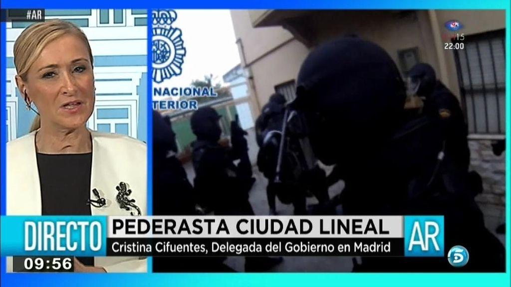 """Cristina Cifuentes: """"La policía temía nuevos abusos y más violentos"""""""