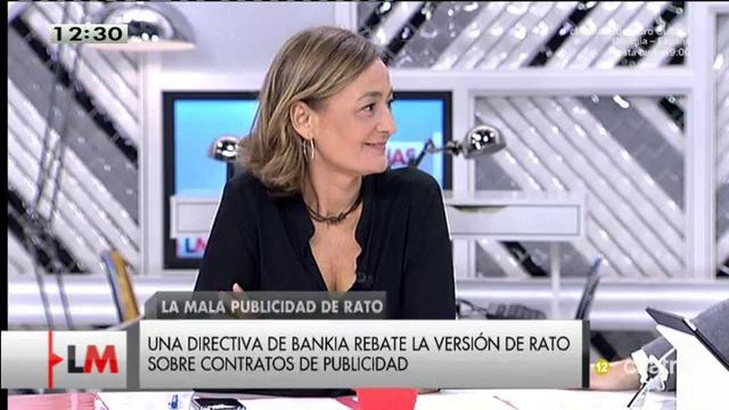 """Luz Rodríguez: """"Rato simboliza el milagro económico del PP, un milagro ventajoso para unos pocos y ruinoso para la mayoría"""""""
