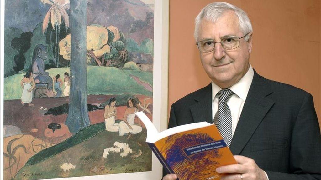 Tomás Llorens, miembro del Patronato del Museo Carmen Thyssen de Málaga. EFE/Archivo
