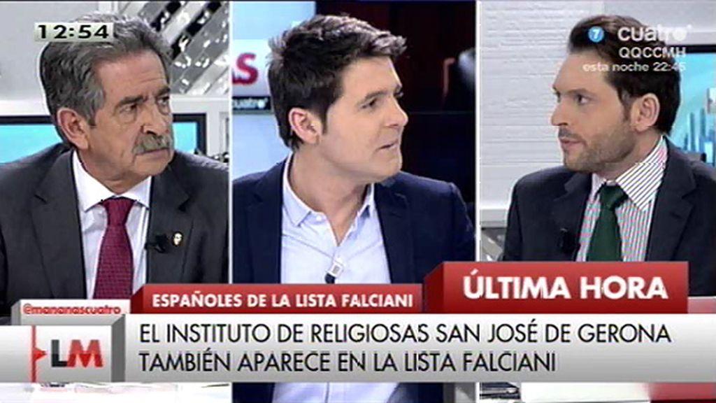 El instituto de las religiosas de San José de Gerona también aparece en la lista Falciani