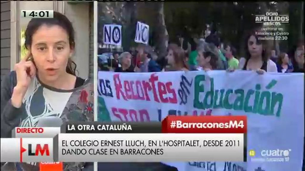 Cataluña tiene 90 centros educativos situados en barracones y aulas prefabricadas