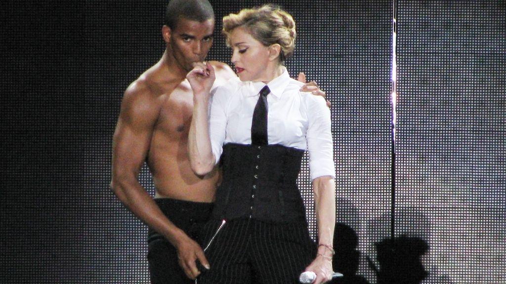 Madonna y su novio Brahim Zaibat