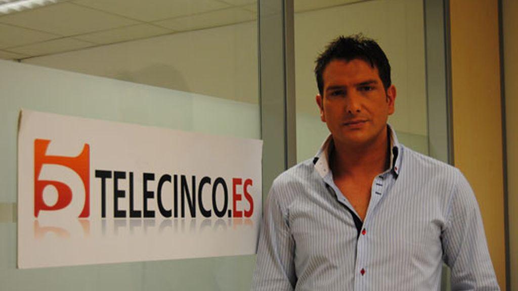 Iván Madrazo visita telecinco.es