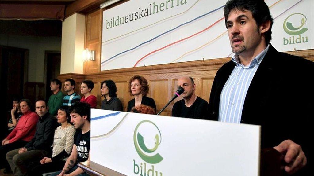 El presidente de Eusko Alkartasuna y Alternatiba, Pello Urízar. EFE/Archivo
