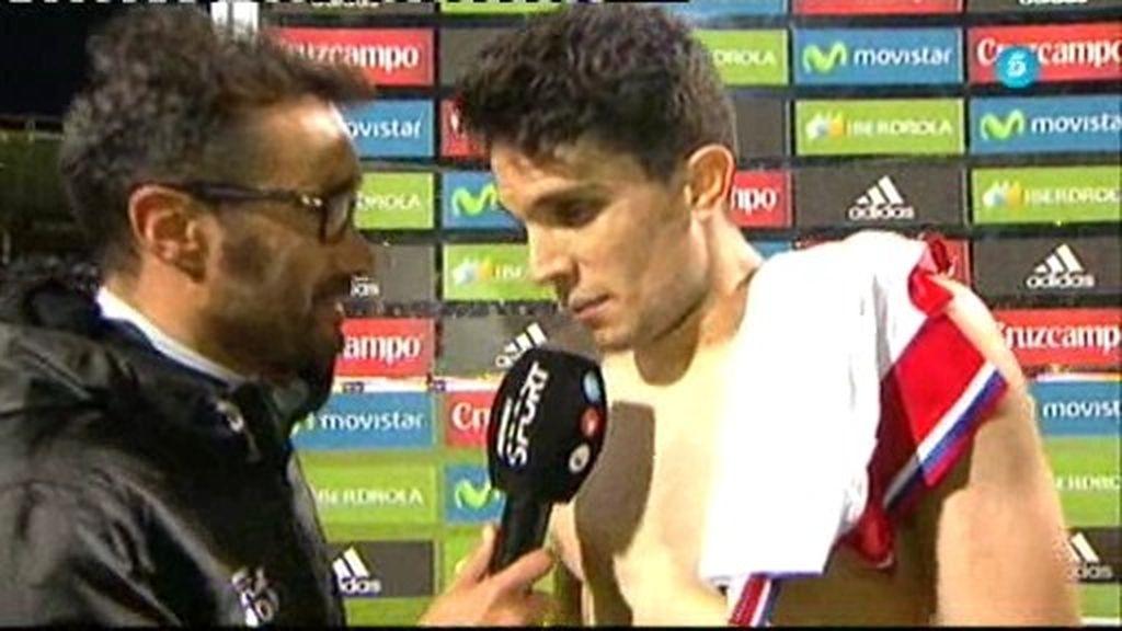 """Bartra, sobre los pitos a Piqué: """"No se los merece aunque se le fue un poco"""""""