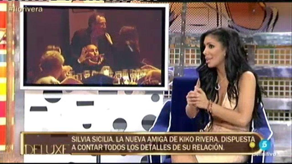 """Silvia Sicilia: """"He mantenido una relación intermitente con Kiko Rivera durante 5 años"""""""