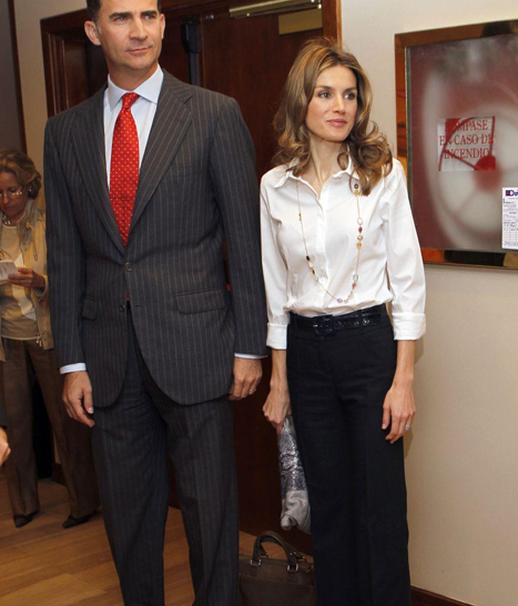Los príncipes de Asturias premian a los embajadores de la Marca España