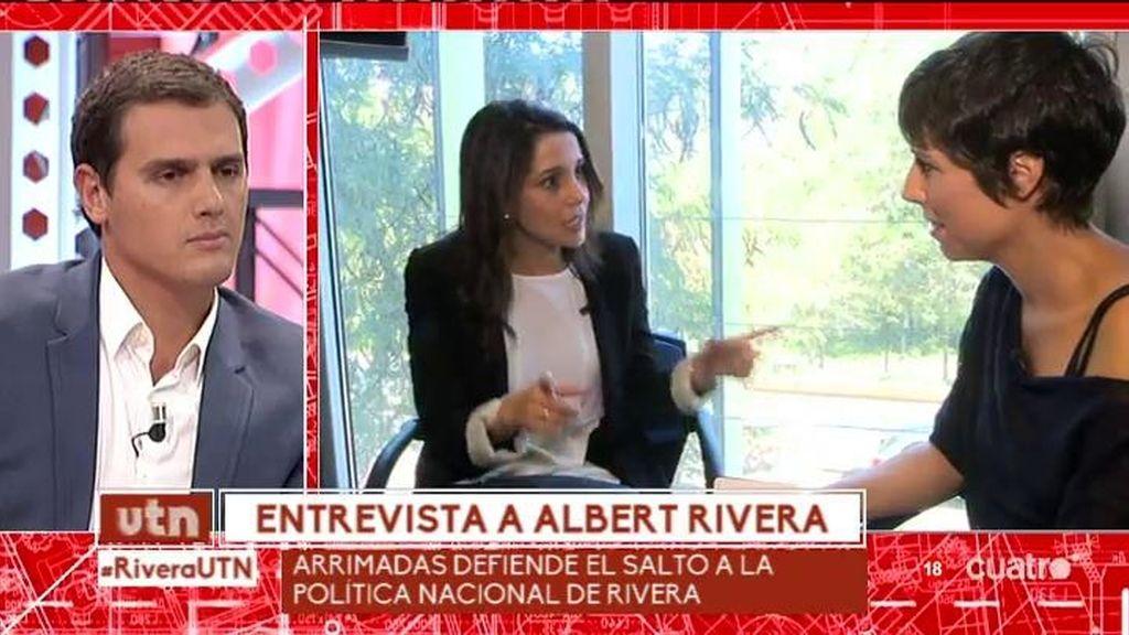 """Albert Rivera: """"No puedo utilizar a Cataluña como trampolín para gobernar España"""""""