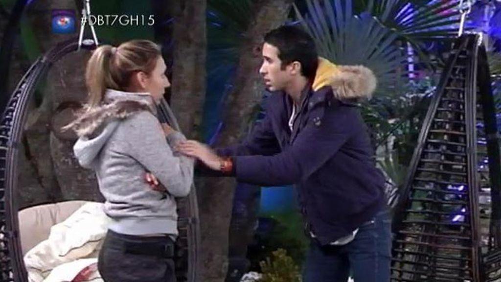 """Paula, a Luis: """"Lo que rompe nuestra relación es que me hables como me estás hablando"""""""