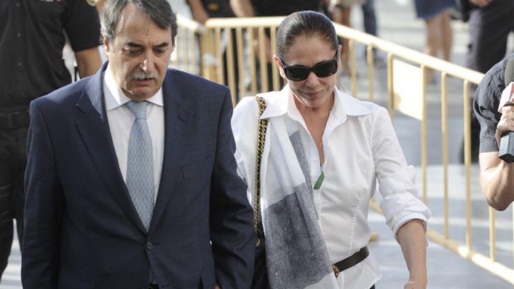 Isabel pantoja, segundo día, juicio, audiencia de Málaga