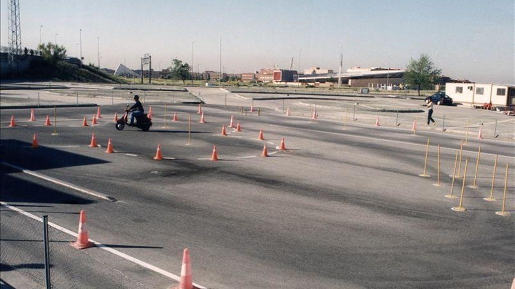 Circuito de pruebas de la Dirección General de Tráfico para realizar el examen de conducción. EFE/Archivo
