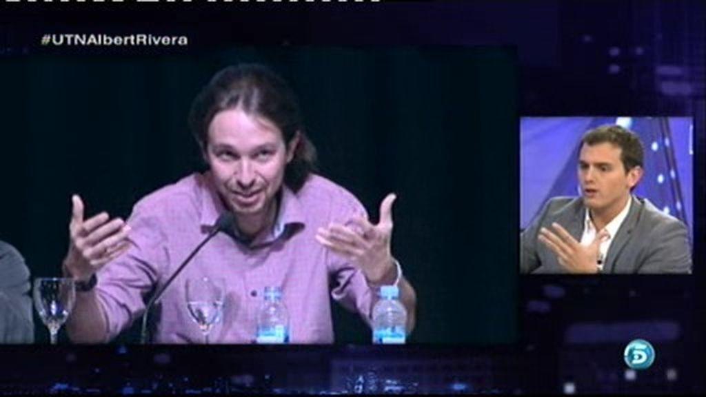 """Rivera: """"No negocio con Podemos porque no me gustan las soluciones del S. XIX"""""""