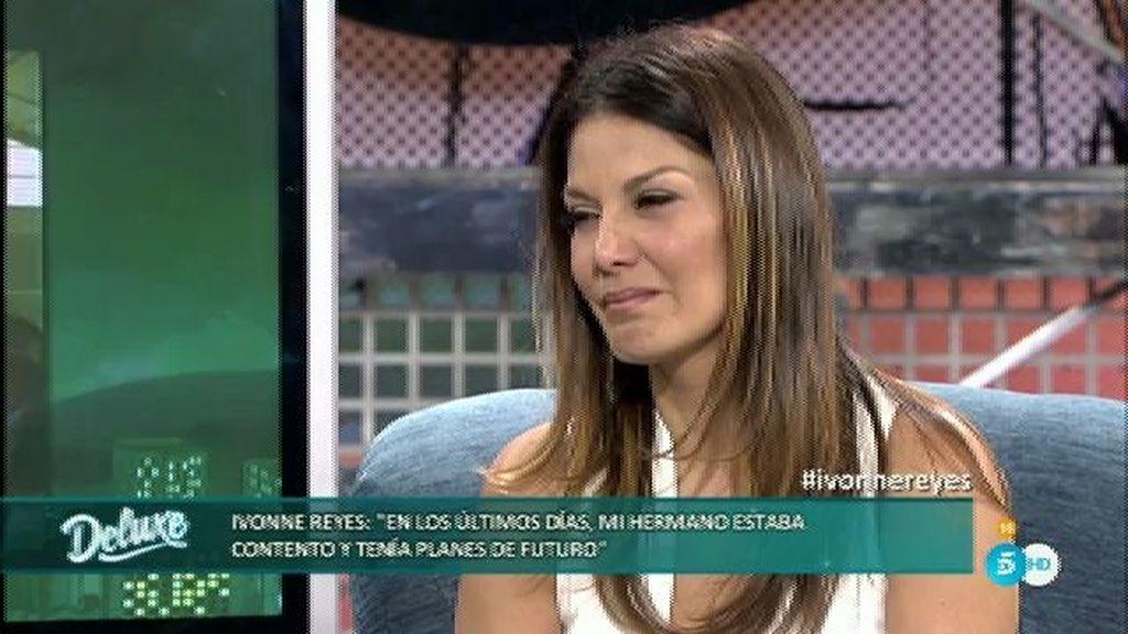 """Yvonne: """"Pepe Navarro no me ha llamado para darme el pésame por mi hermano"""""""