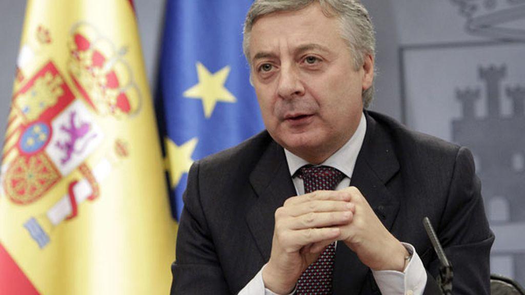 José Blanco, portavoz del Gobierno.