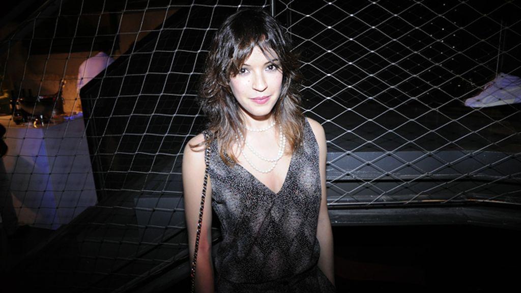 La actriz Verónica Sánchez fue otra de las invitadas a la fiesta Reebok Live with fire
