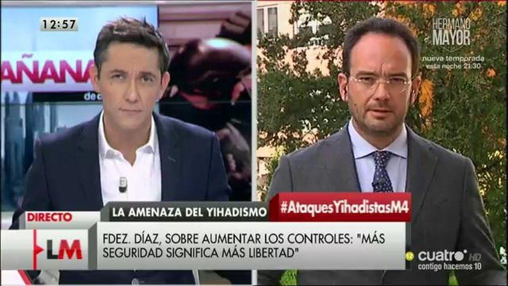 La entrevista a A. Hernando, a la carta