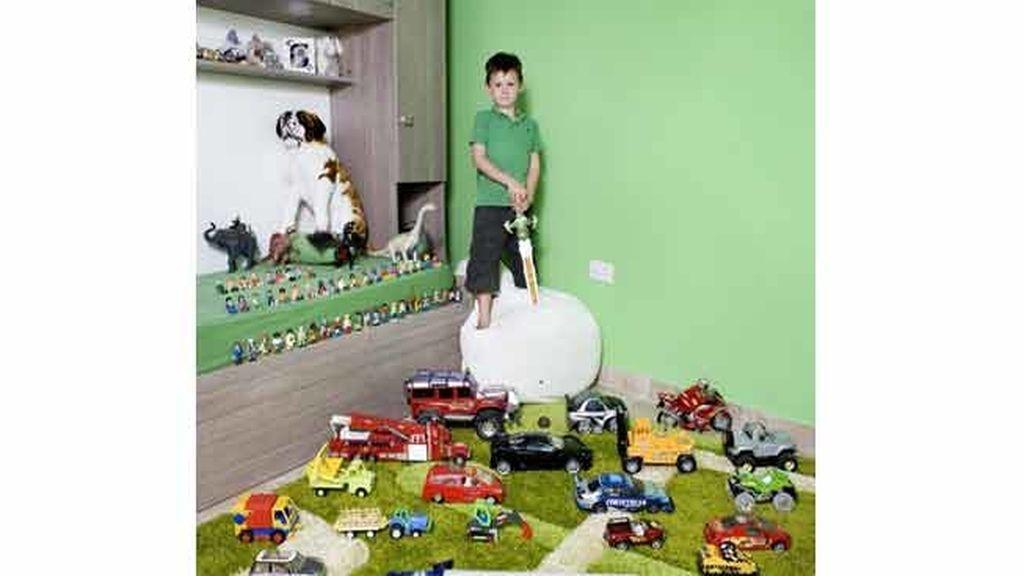 Los peques y sus juguetes definen el mundo