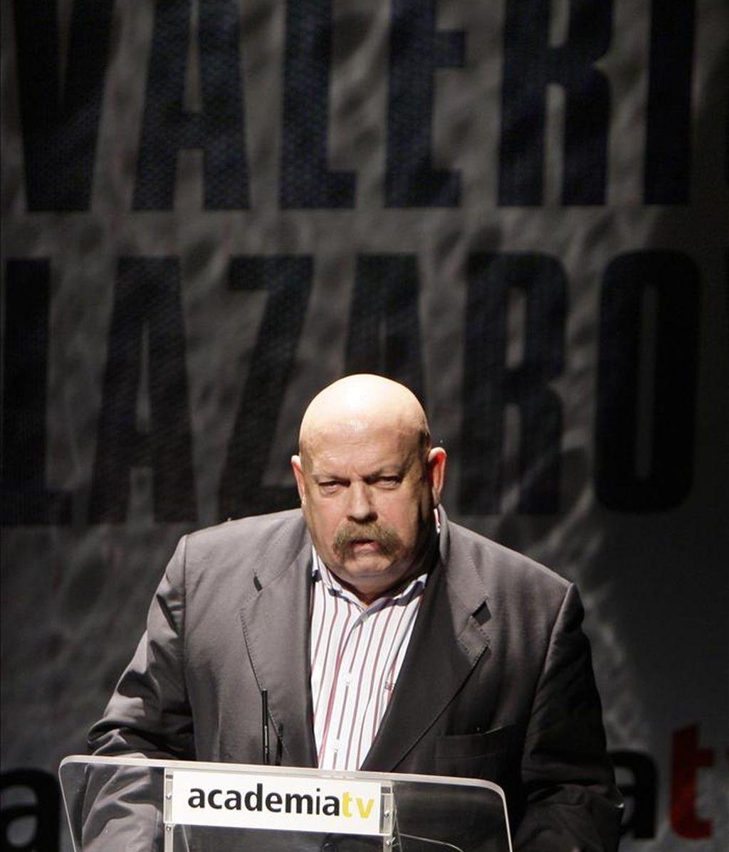 El periodista José María Iñigo. EFE/Archivo