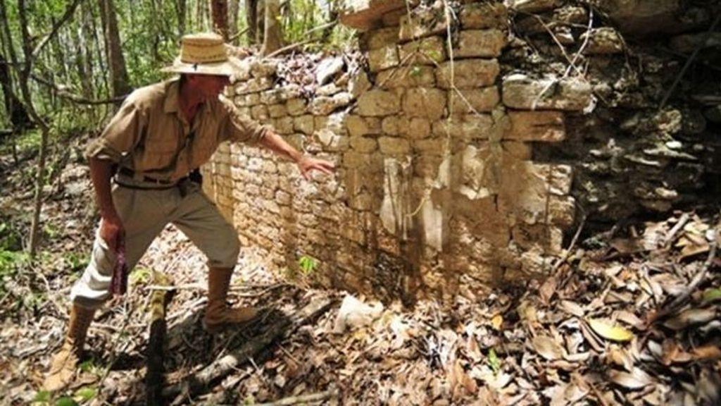 Descubren una ciudad perdida maya en la selva mexicana