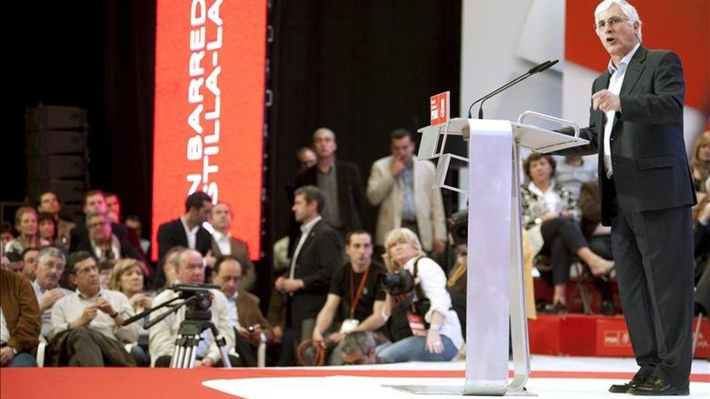 El presidente de Castilla-La Mancha, José María Barreda. EFE/Archivo