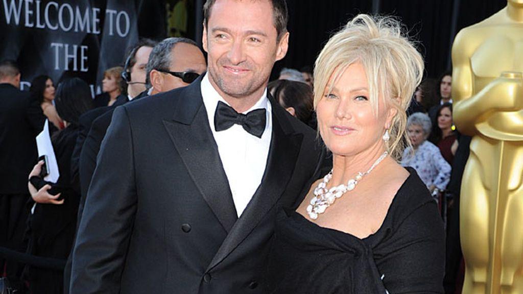Hugh Jackman y Deborah Lee