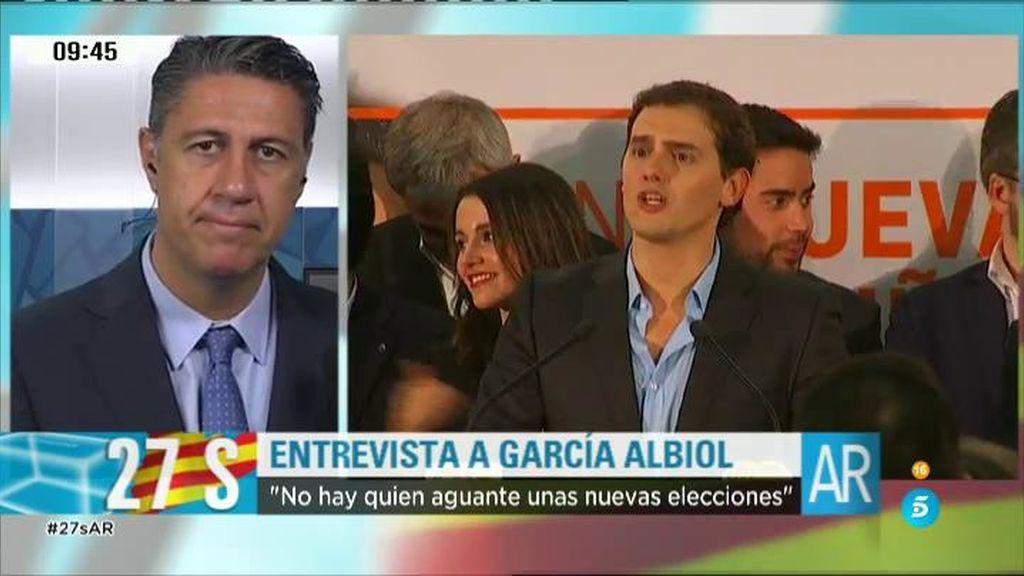 """Xabier García Albiol: """"Tenemos que llevar a cabo algunas reflexiones"""""""