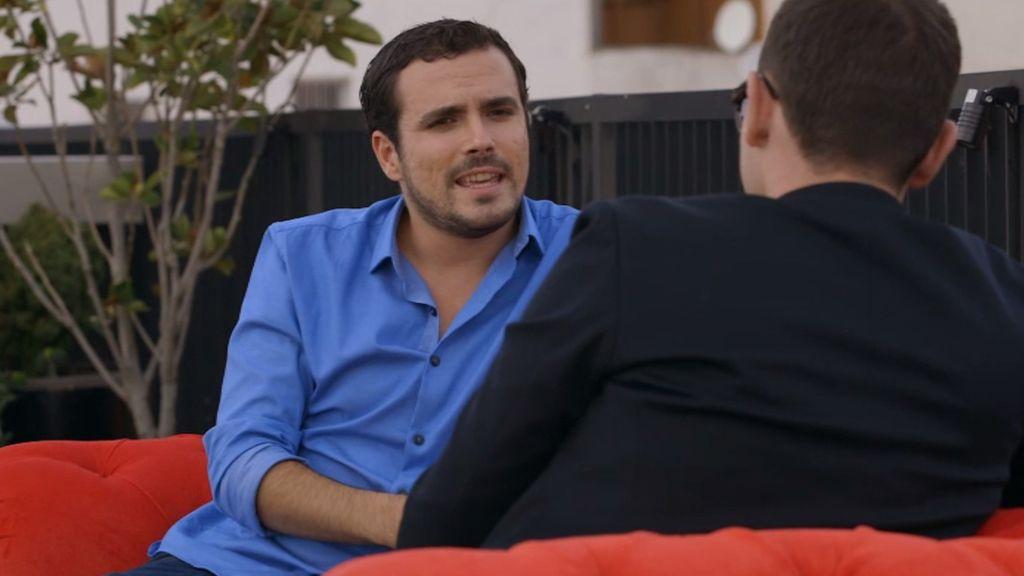 """Alberto Garzón: """"Hay que predicar con el ejemplo porque sino no tienes credibilidad"""""""