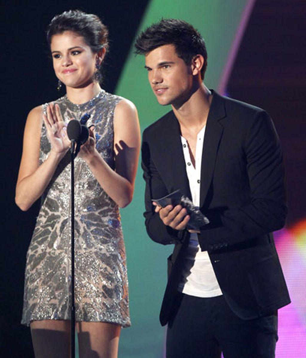 Selena Gomez y Taylor Lautner