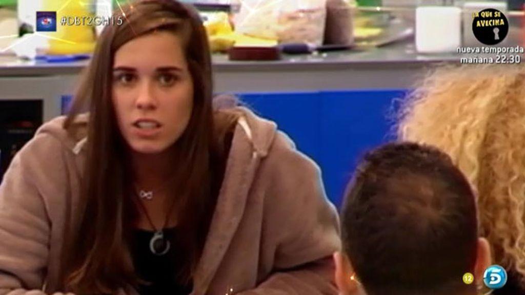 """Alejandra, a Vitín: """"¿Te das cuenta de que últimamente lo recriminas todo? Estás viejo"""""""