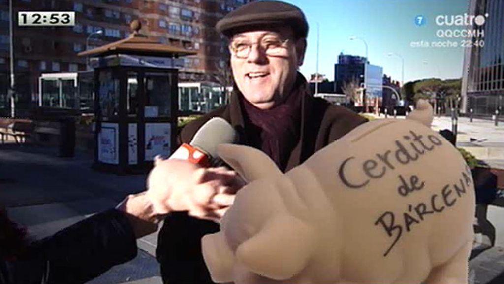'LMDC' saca la 'hucha' de Bárcenas a la calle