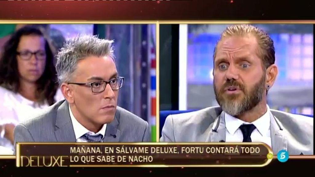Fortu ha reaccionado a las acusaciones de Nacho Vidal... ¡y visitará el 'Deluxe'!