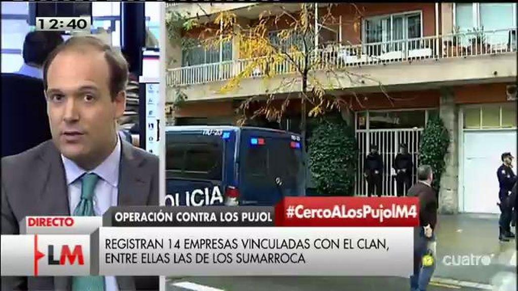 """Urreiztieta: """"Los Pujol habrían seguido controlando las grandes adjudicaciones públicas en la Comunidad Autonoma"""""""