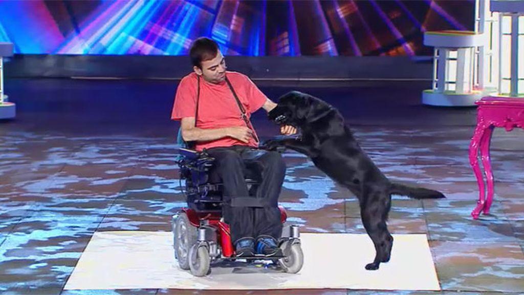 """Sergio, sobre Jarta: """"Ha fallado un poquito, pero ella es un perro"""""""