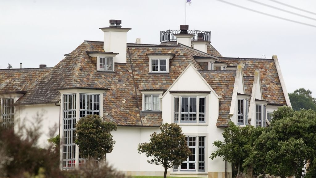 La mansión de Kim Dotcom