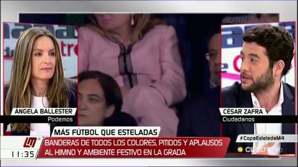 """César Zafra: """"Ir a la final de la Copa del Rey a sacar la bandera y a pitar el himno de todos es una falta de respeto"""