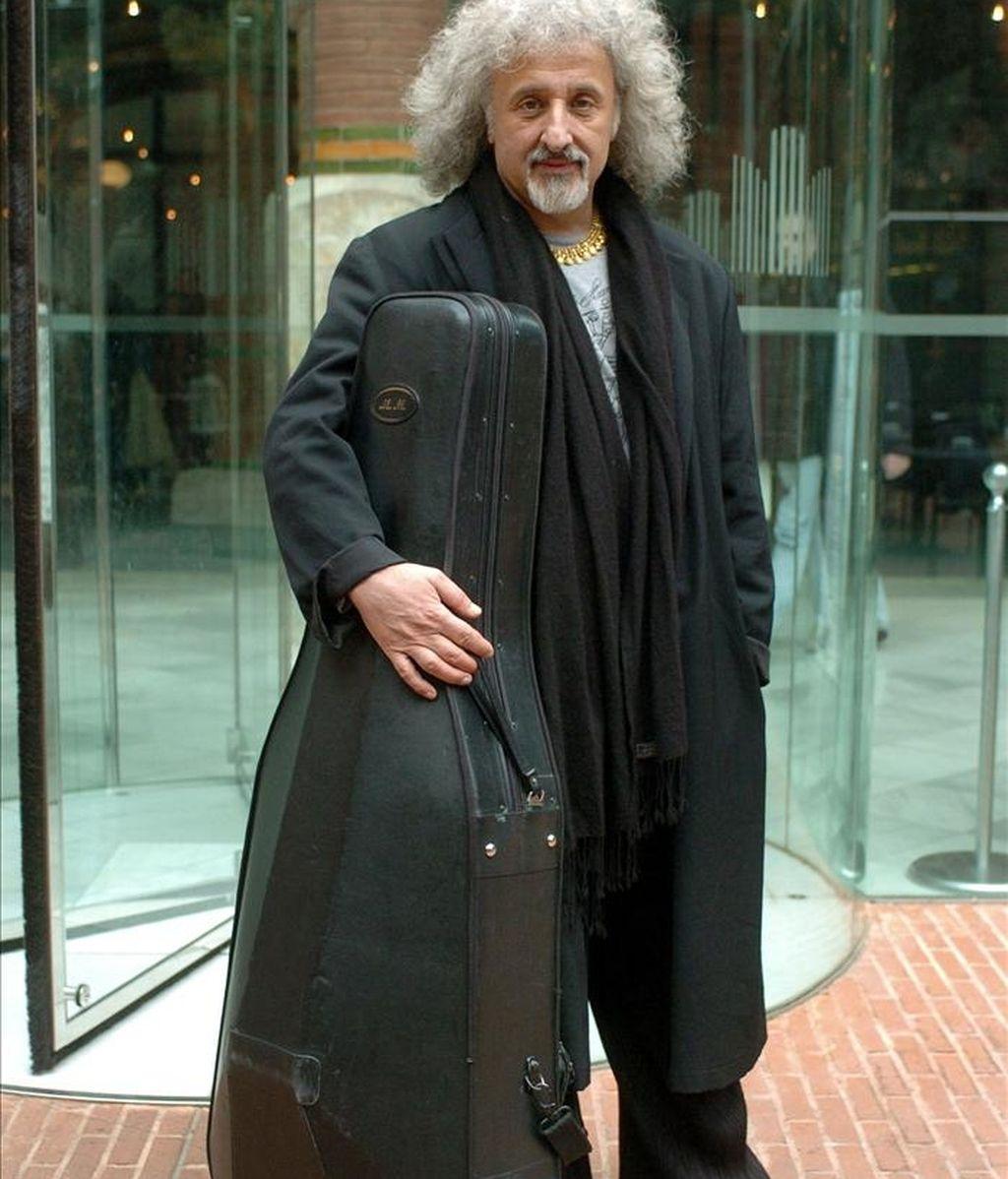 El violonchelista letón Mischa Maisky. EFE/Archivo
