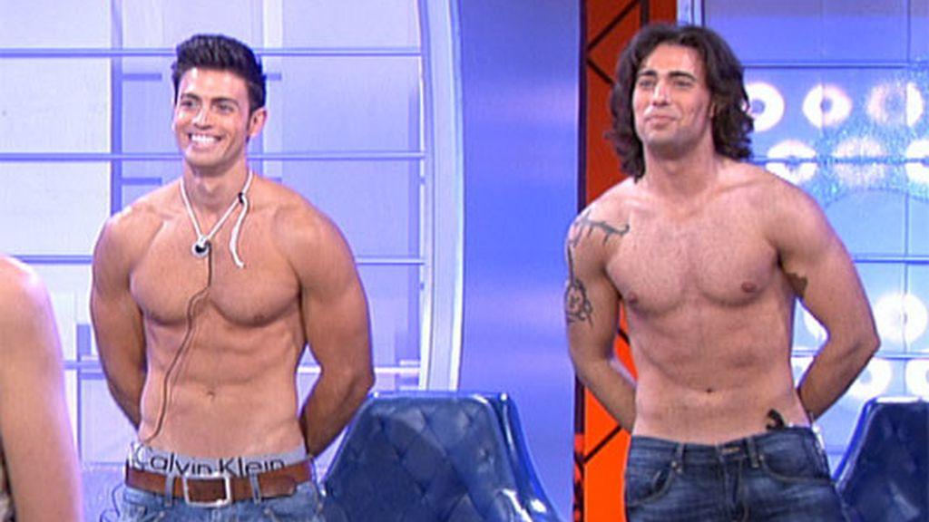 Curro, Reche y Rafa Mora, al desnudo