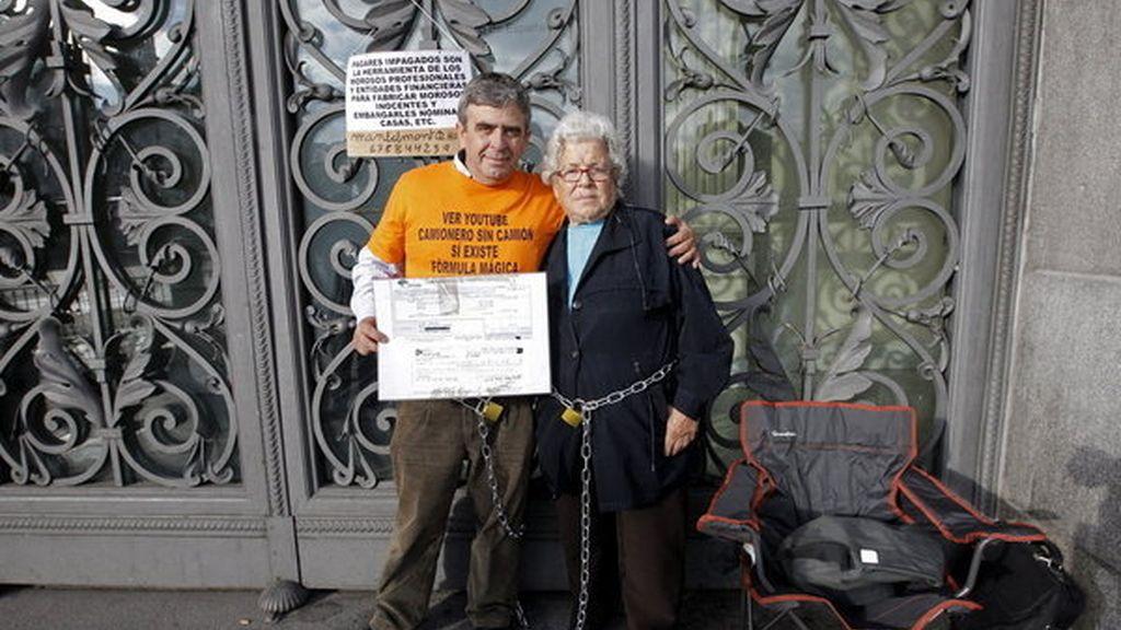 Ángeles Belmonte anciana desahuciada