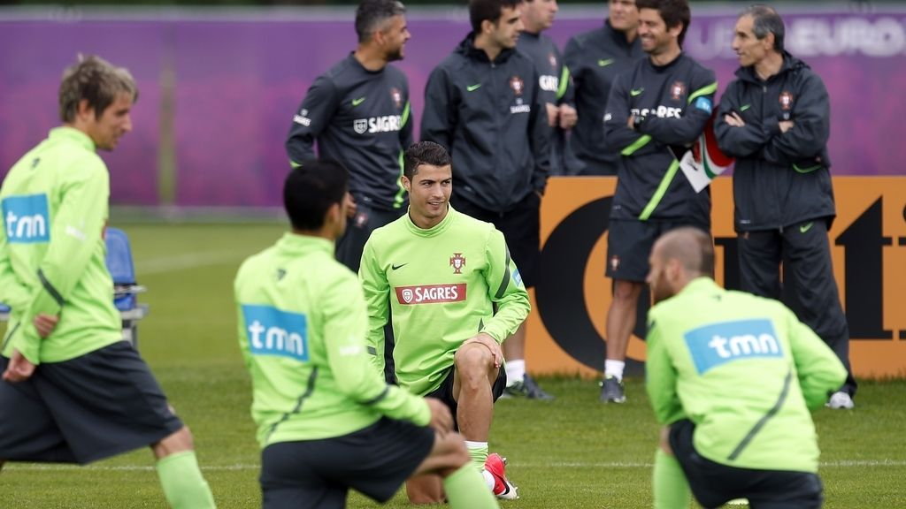 Portugal se entrena pensado en La Roja