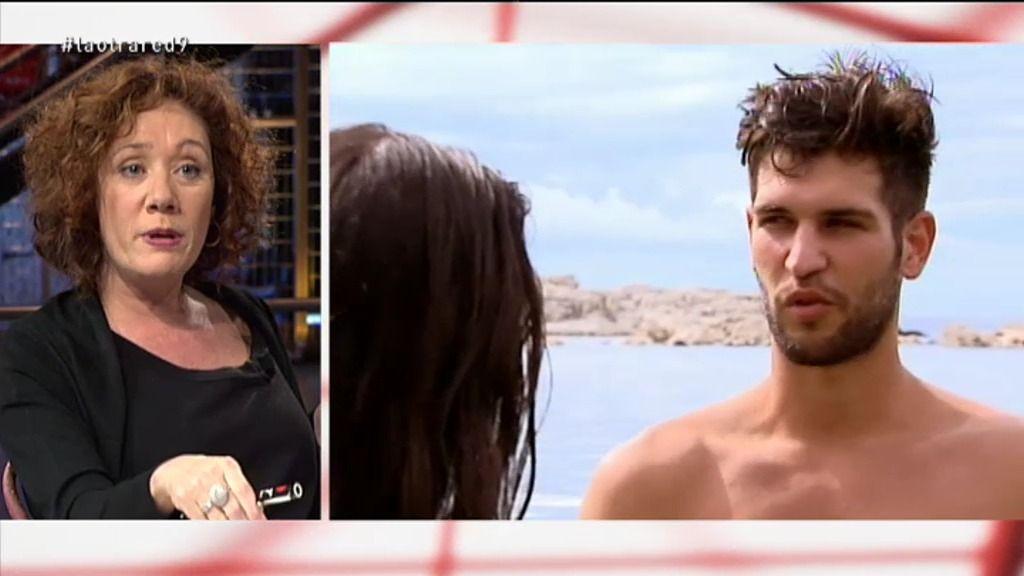 """Cristina Fallarás: """"Iván, de 'Adán y Eva', se parece a Montoro en la crueldad"""""""