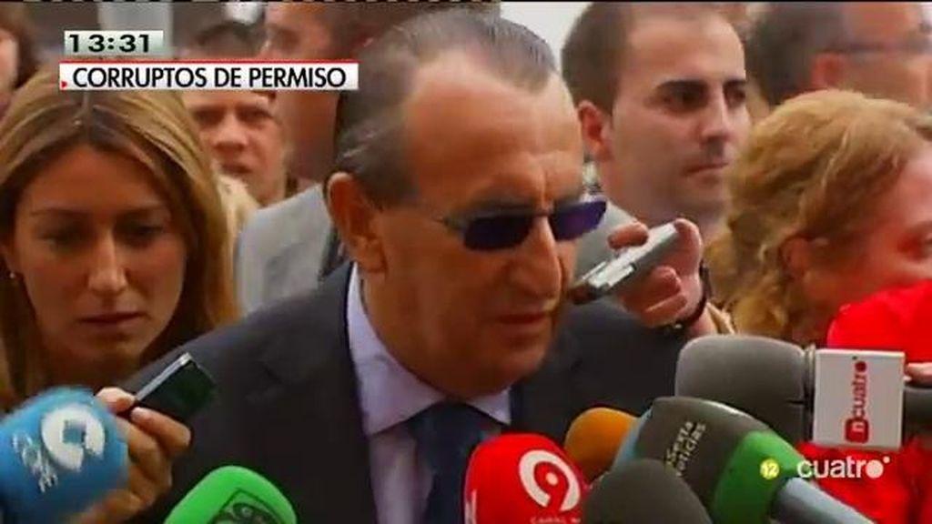 Carlos Fabra, último 'saqueador' de lo público de permiso penitenciario